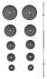 Nakládací činka PREMIUM 75 kg