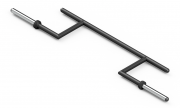 CAMBERED SQUAT BAR MARBO MF-G011