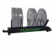 Odkládací stojan na kotouče BUMPER Plate TUNTURI s kotouči