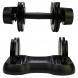 TUNTURI Selector 2,5-12,5 kg činka+úložný prostor zepředu